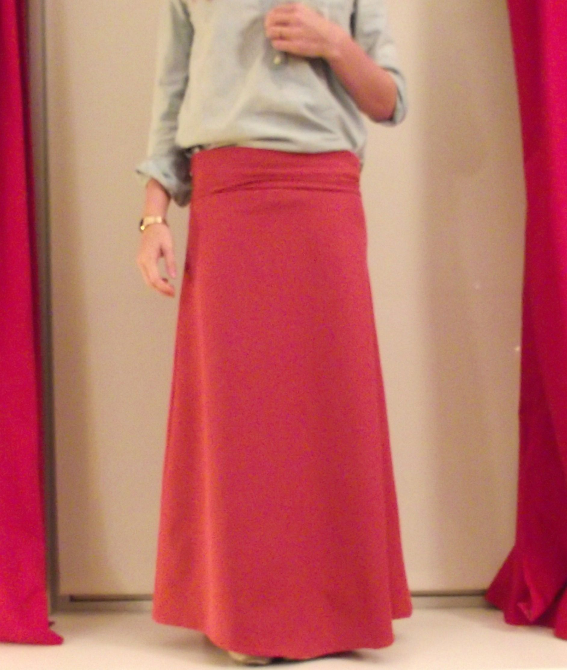 skirt series 1 how to make a basic maxi wasted weekends