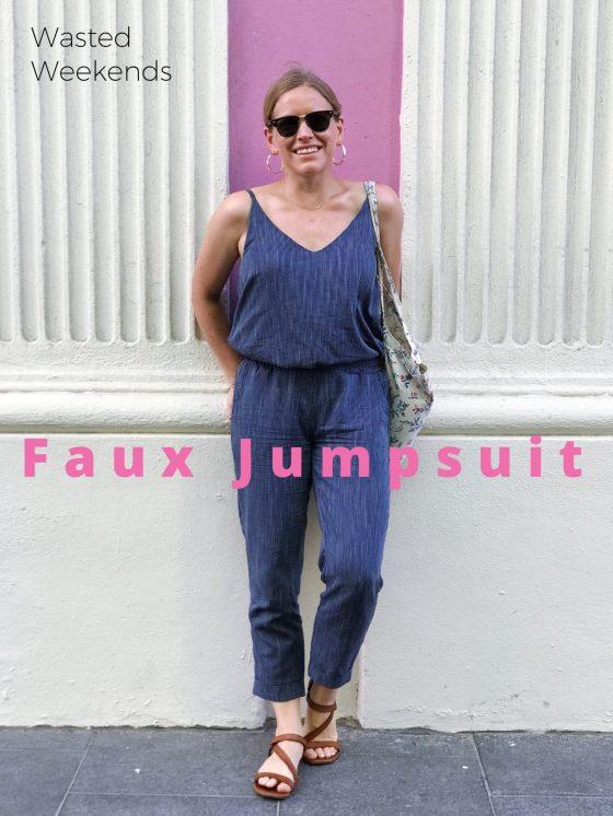 Ogden Cami faux jumpsuit